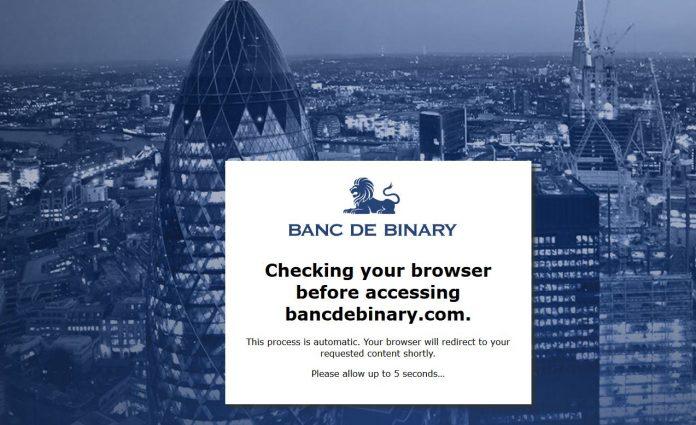 Webseite von bancdebinary.com