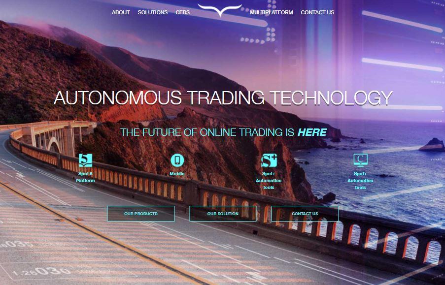 Webseite von spotoption.com