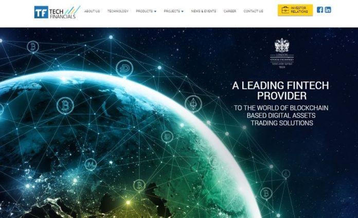 Webseite von Techfinancials.com