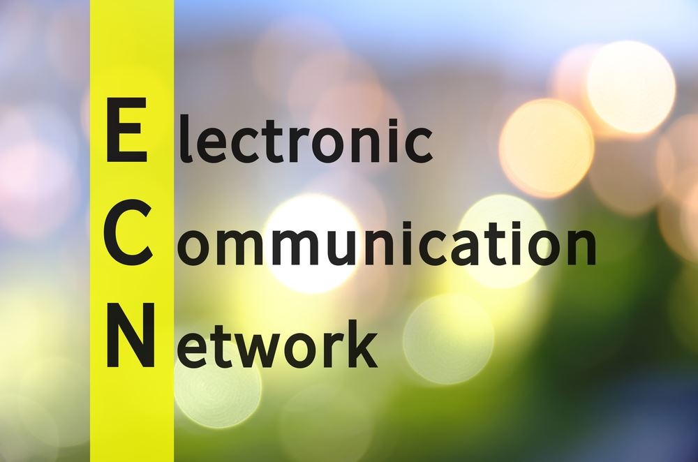 Broker, die das Electronic Communication Network (ECN) nutzen