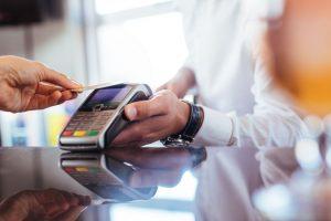 Gebühren für die Nutzung einer Kreditkarte